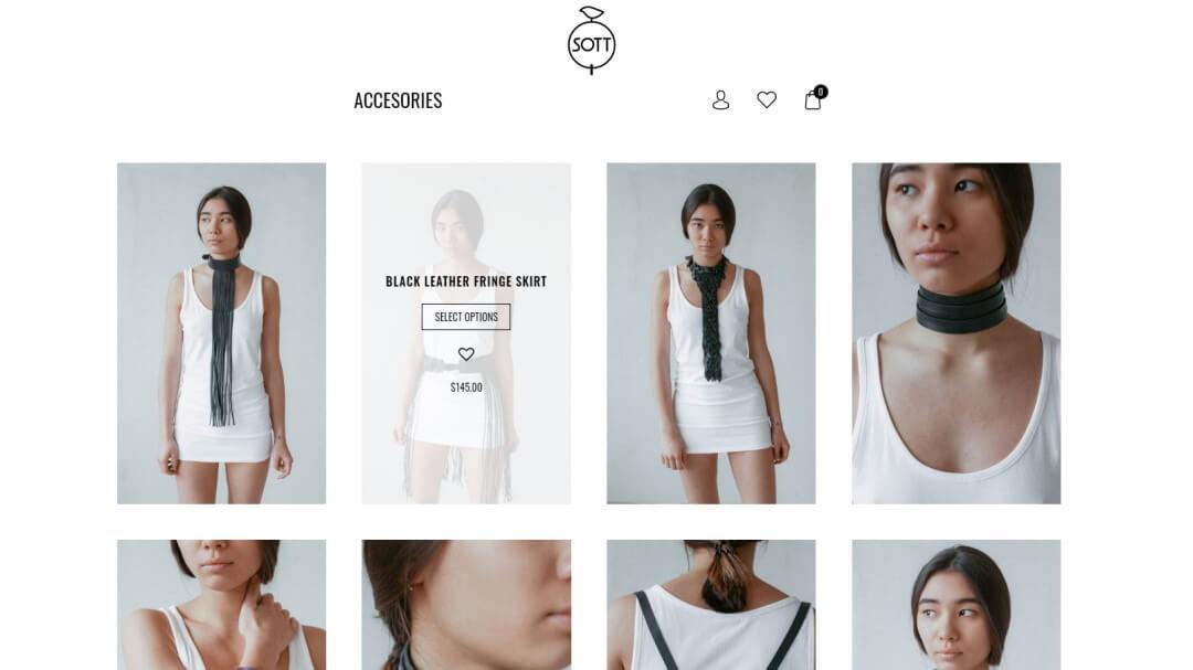 Интернет - магазин кожаных изделий SOTT 3