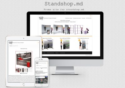 Site of the company Tex-Plast – Stand Shop