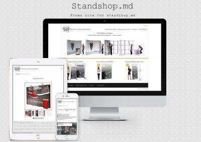 Сайт компании Tex-Plast — Stand Shop