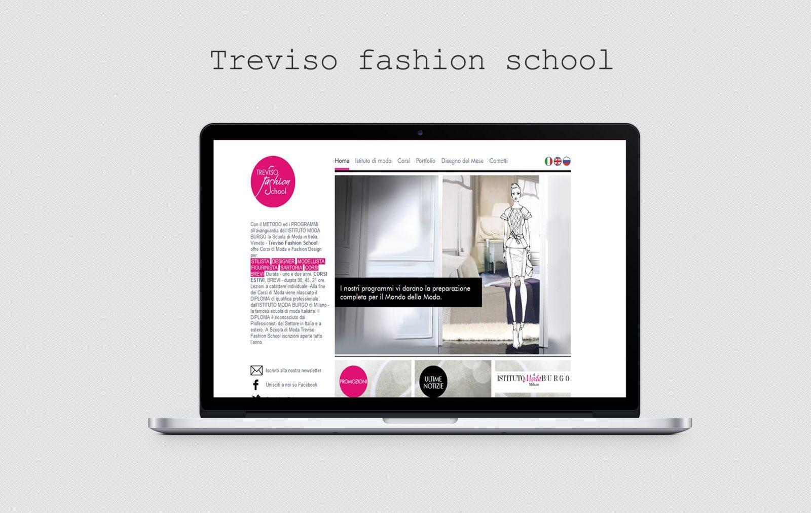 Site-ul - Treviso Fashion School