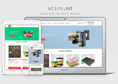 Director site de firme Atiko Plus