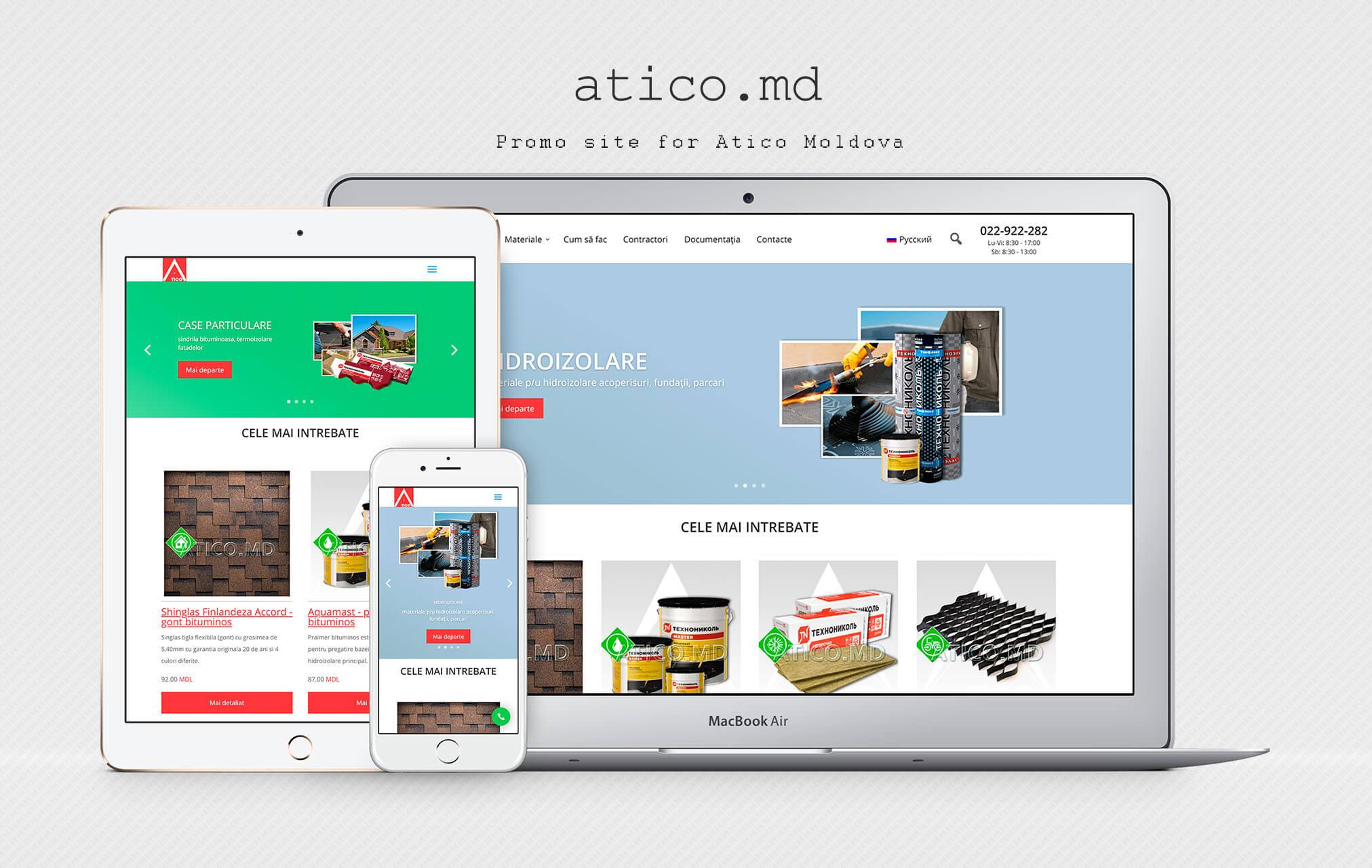 Site - directory Atiko Plus company