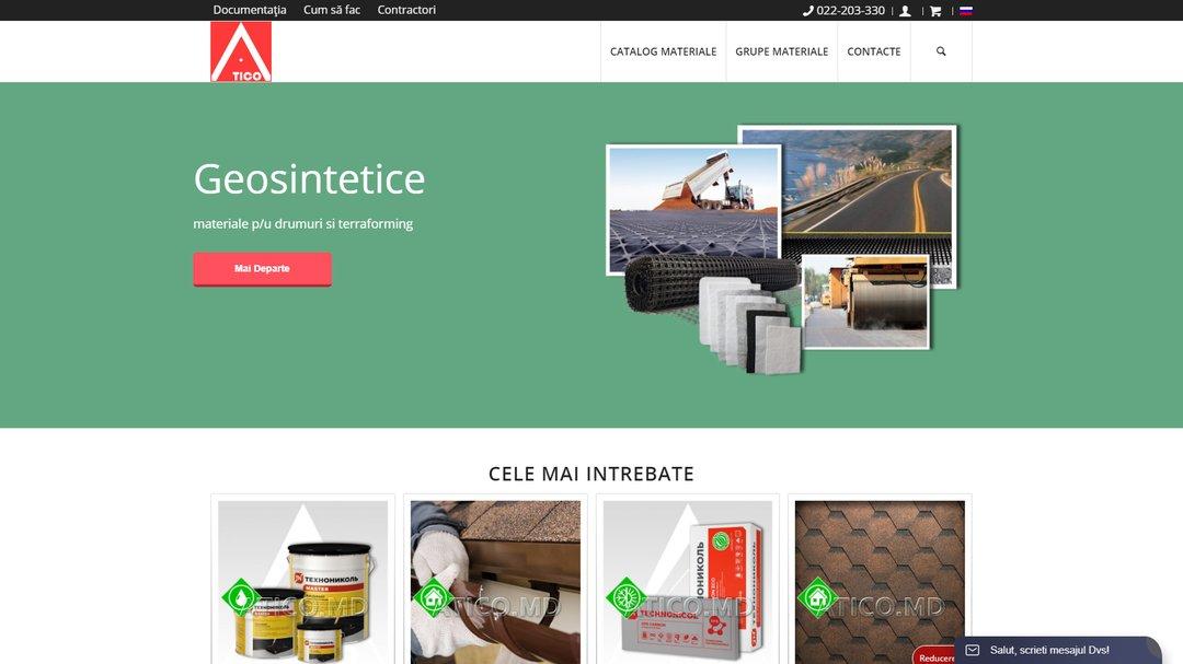Сайт - каталог компании Атико Плюс 2