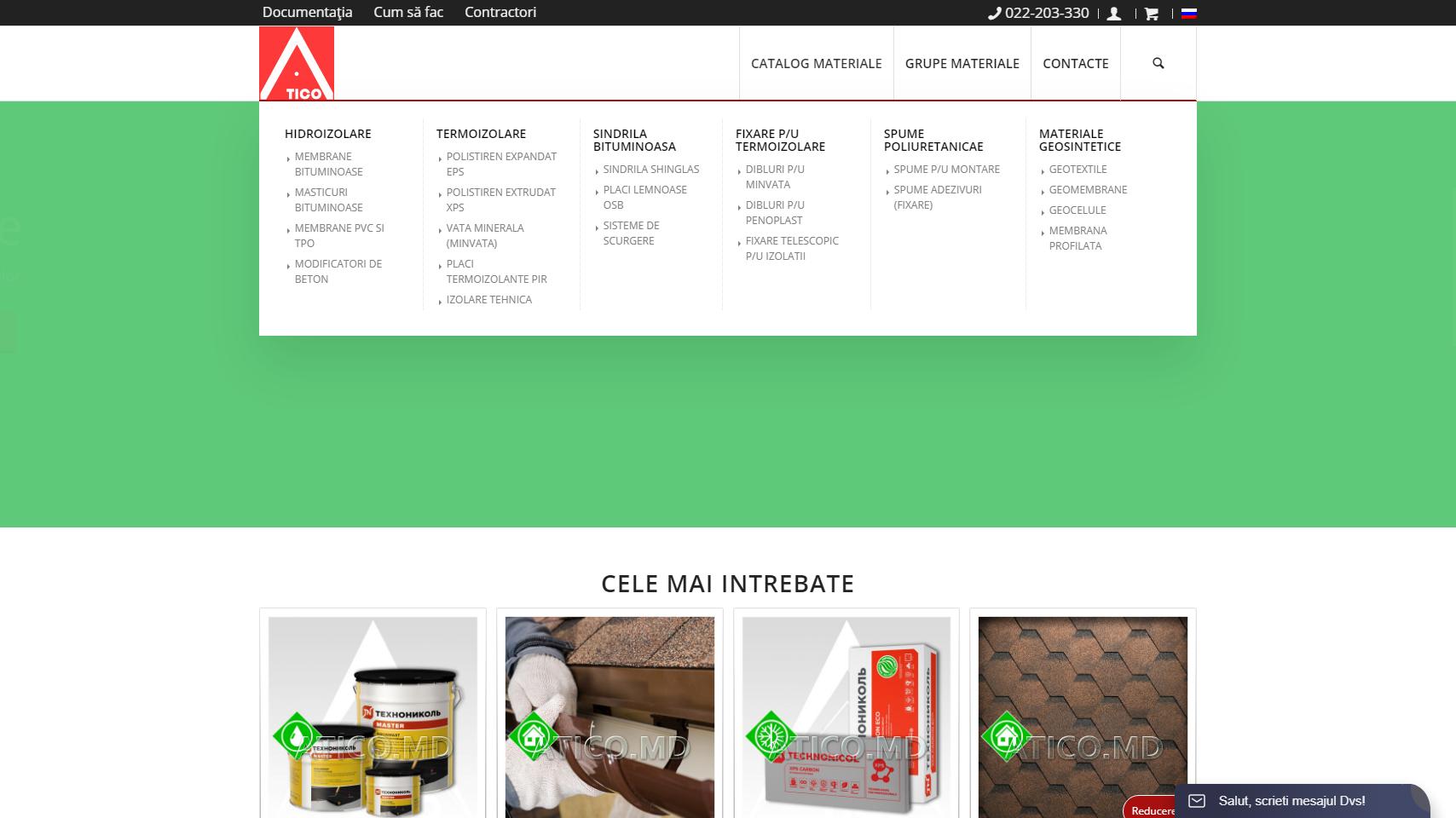 Сайт - каталог компании Атико Плюс 6