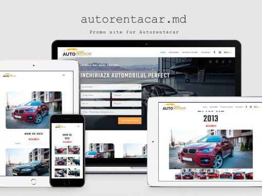 Сайт – каталог компании Autorentacar