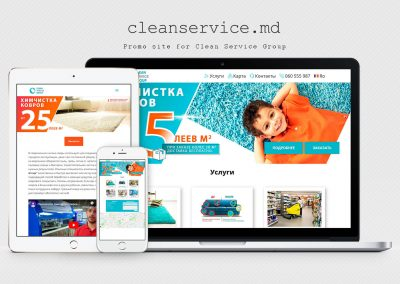 Website cleaning company – Clean Service Group