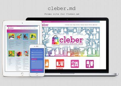 Company Website – Cleber