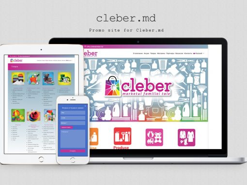 Company Website – Cleber