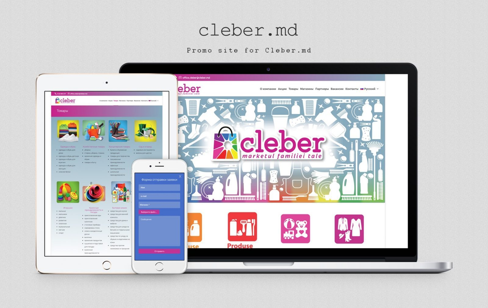 Company Website - Cleber
