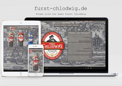 Website German beer – Furst Chlodwig
