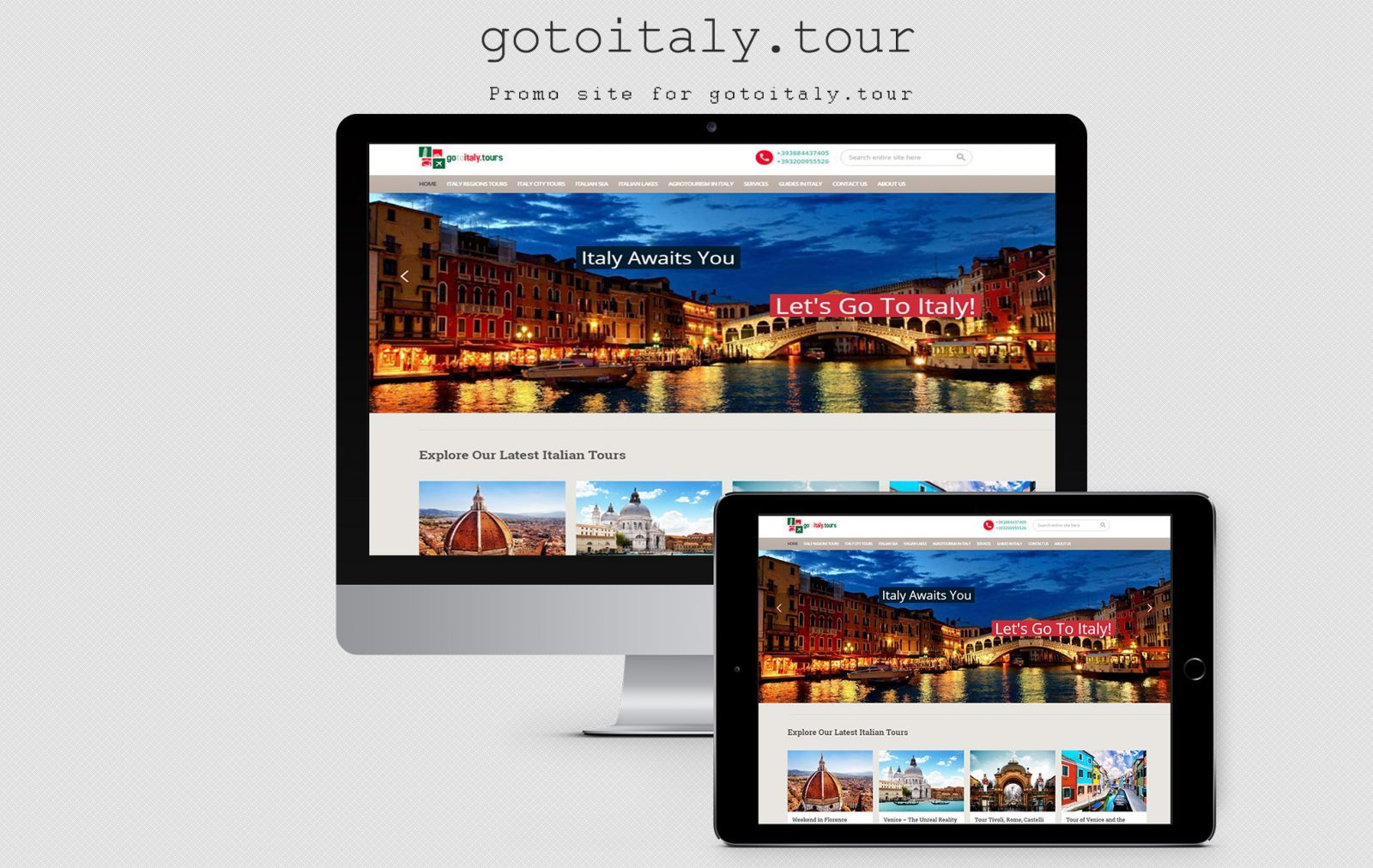 Travel portal - Go to Italy Tours
