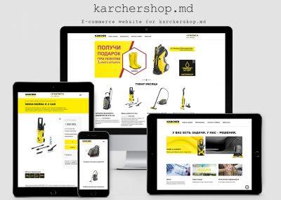 Online Shop – Karcher Moldova