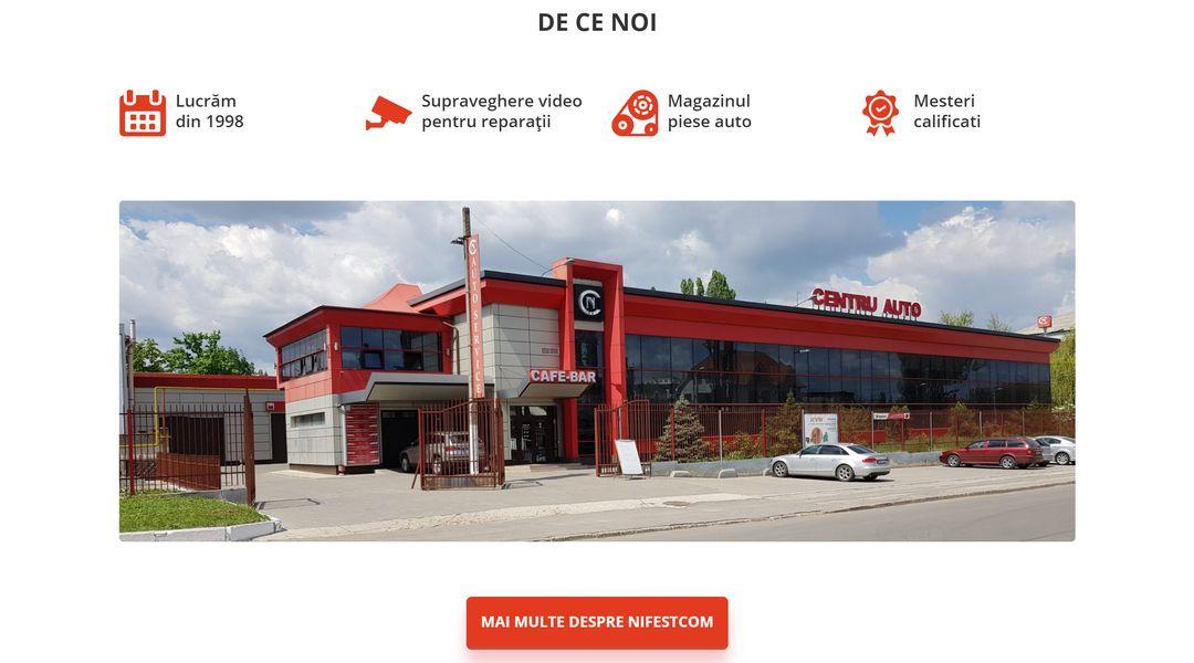 Reproiectarea site-ului companiei NIFESTCOM 14