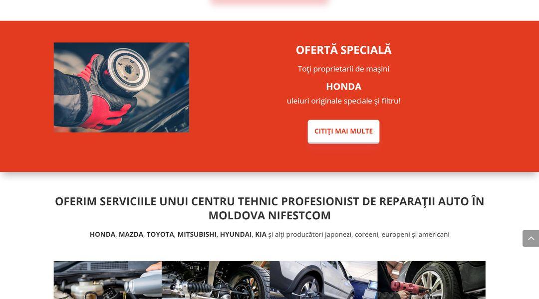 Reproiectarea site-ului companiei NIFESTCOM 15
