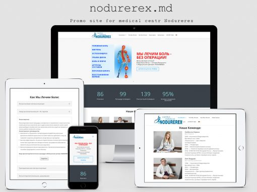 The site of the medical center – Nodurerex