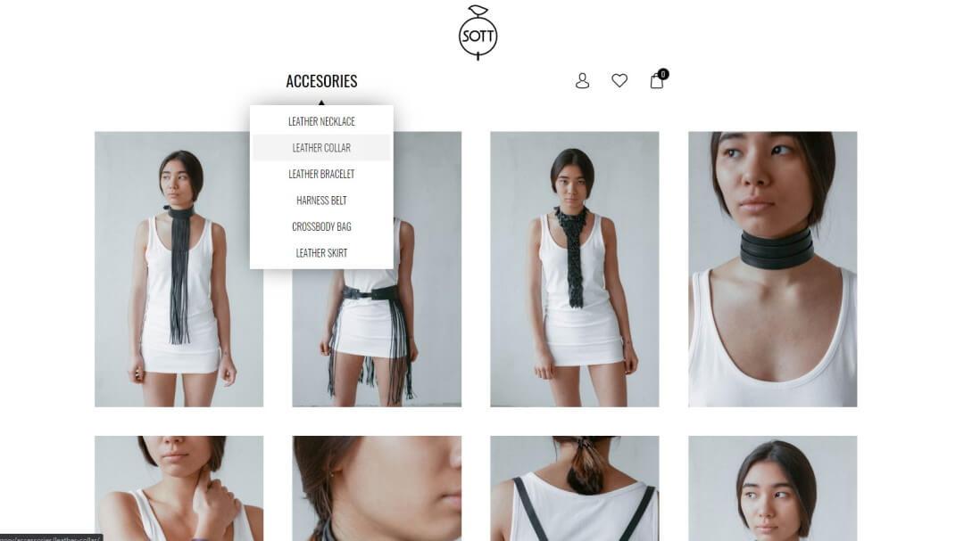Интернет - магазин кожаных изделий SOTT 7