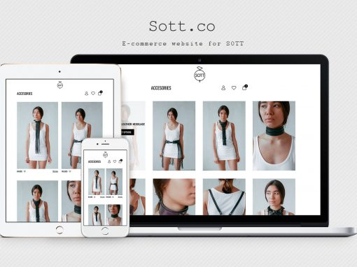 Online - shop leather products Sott
