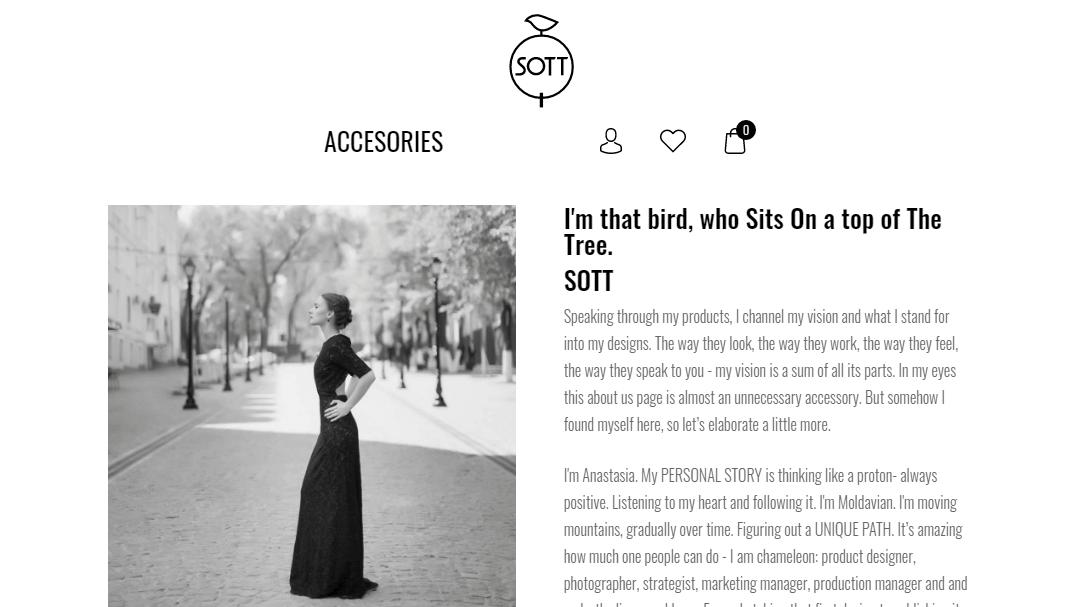 Интернет - магазин кожаных изделий SOTT 13