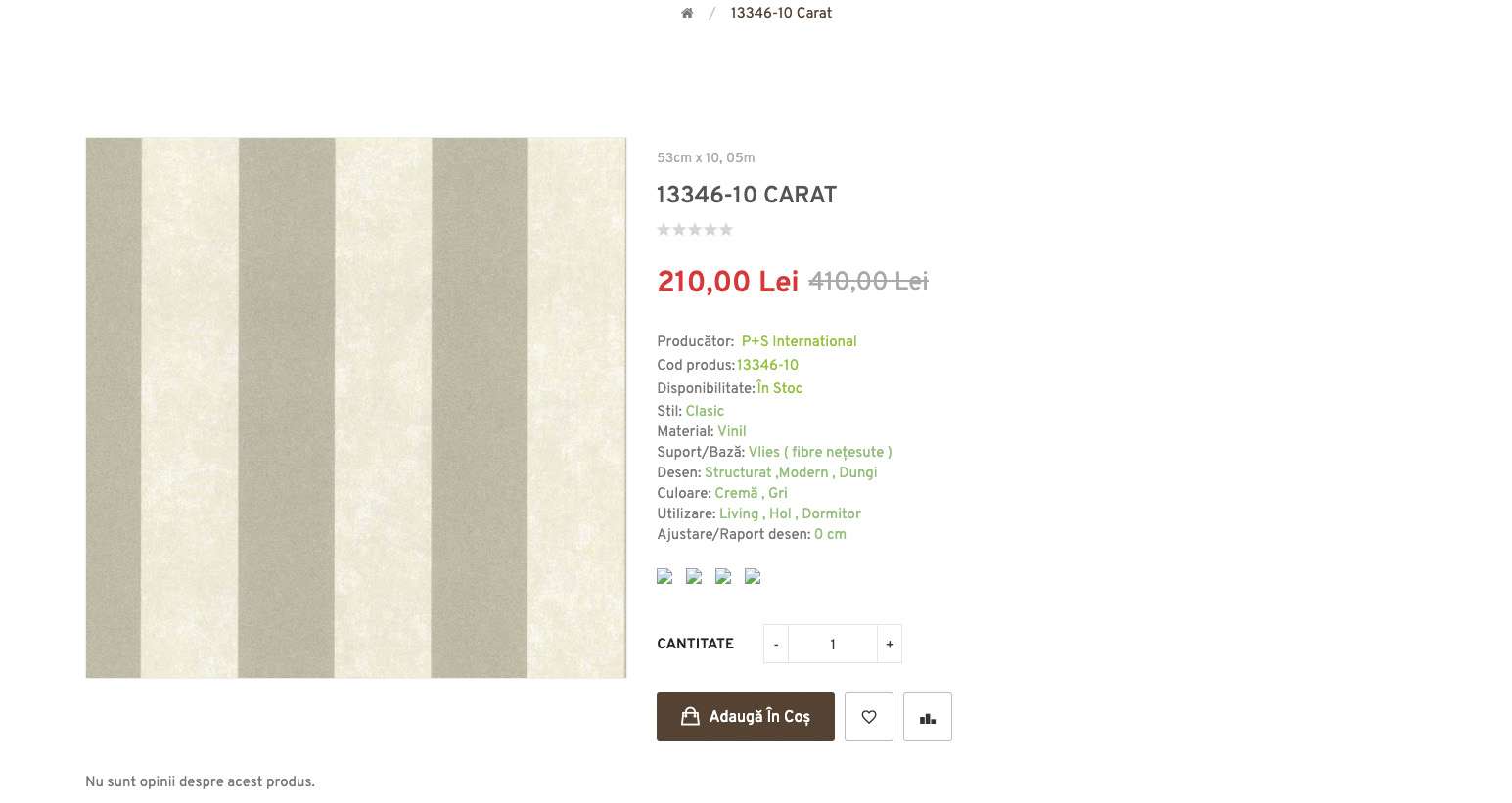 Redesign of the online store Lumea Tapetelor 6