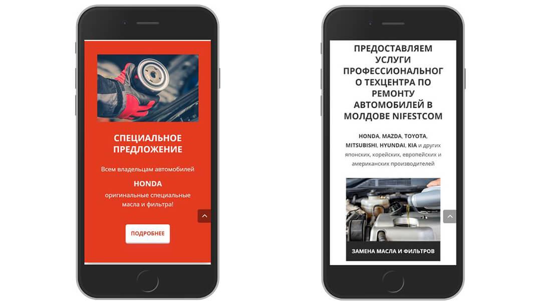 Reproiectarea site-ului companiei NIFESTCOM 30
