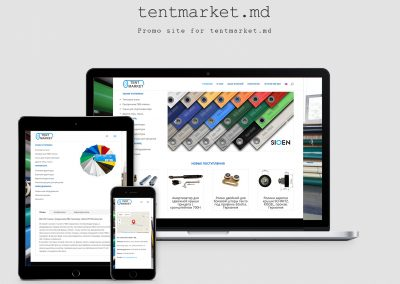 Site of the company Tex-Plast – Tent Market