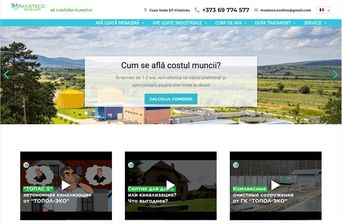Magazin online de facilități de tratament - Ecoline.md 3